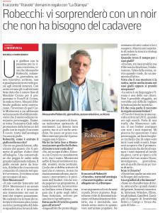 Intervista La Stampa 131120